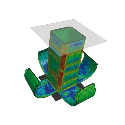 LS-DYNA Compact: Simulation of fiber-reinforced plastics