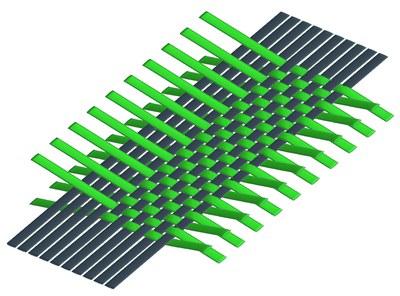 Simulation of short fiber reinforced composites