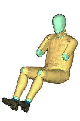Dummy/Pedestrian Impactor Modeling